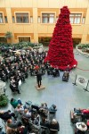 FSWE under the direction of Roy Johnson at Genesys Hospital Holiday Concert 2012, credit Flint Journal / Griffin Moores