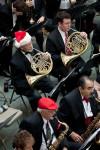 Don Clough, Brendan Hieshetter (French Horns), credit Flint Journal / Griffin Moores