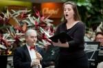 "Jennifer Curts, soloist - ""Ave Maria"", FSWE Genesys Hospital Concert 2012, credit Flint Journal / Griffin Moores"