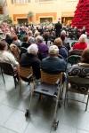 Flint Symphonic Wind Ensemble, performing at Genesys Hospital 12/2/2012, credit Flint Journal / Griffin Moores
