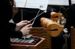 Emily Gorzalski, percussionist, credit Flint Journal / Griffin Moores