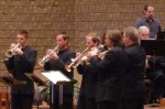 Grand Valley State University Trumpet Ensemble, with FSWE 10/23/2011