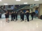 Pre-concert flute choir
