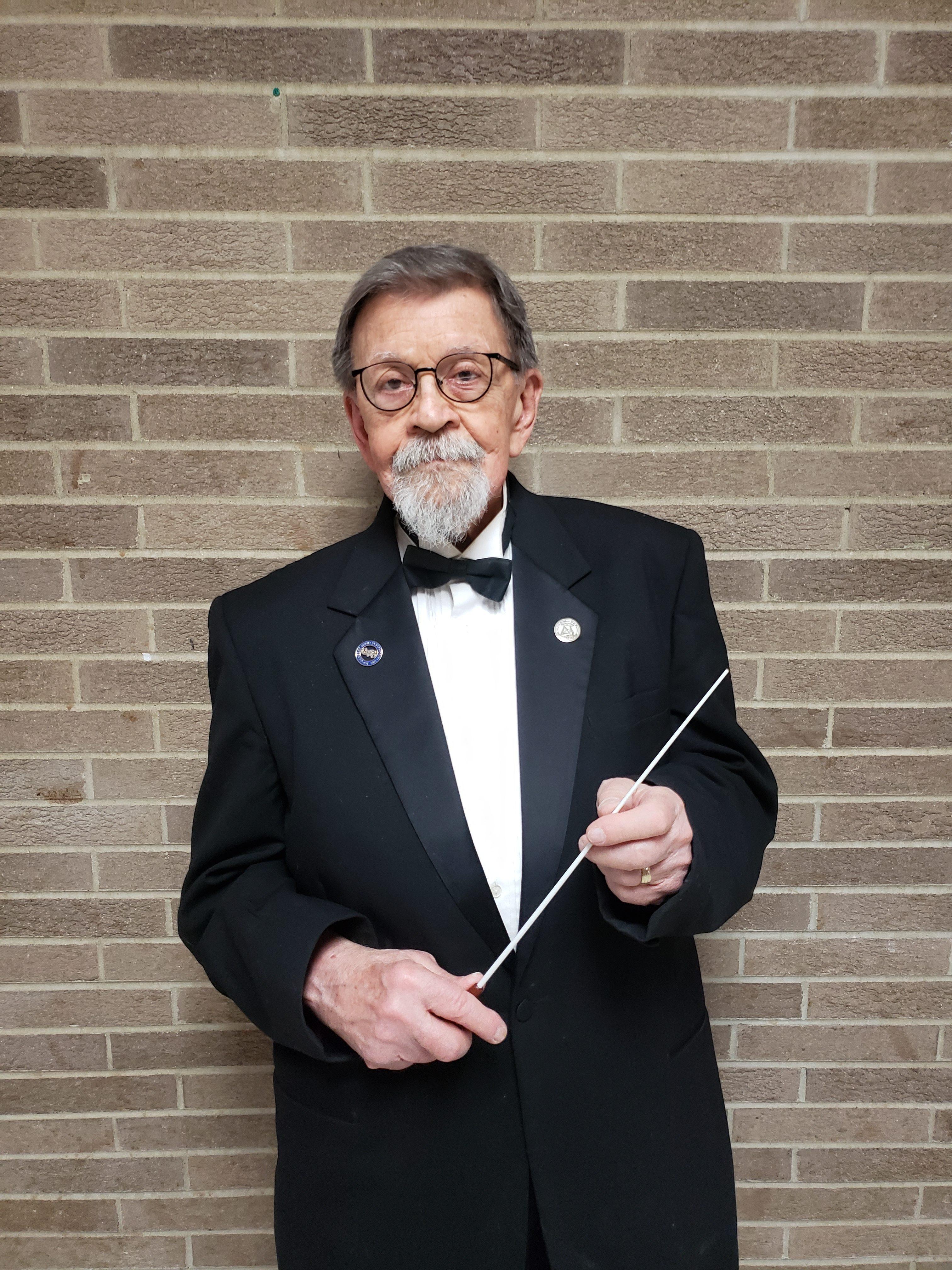 Don Clough, conductor emeritus of the FSWE